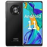 CUBOT MAX3 Smartphone Ohne Vertrag Android 11 Handy, 6,95 Zoll FHD+ Bildschirm, 4GB RAM + 64GB ROM/256 GB, 5000mAh Akku, 16MP + 48MP DREI Kamera, 4G LET Dual SIM Smartphone, NFC, Face ID, GPS