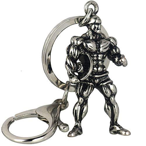 Sperrins Porte-clés Poids Fitness Gym Porte-clés Pour Cadeau Bodybuilder Pour Bodybuilding & Haltérophilie Fitness Cadeau
