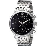 Tissot T0636171106700 Reloj para hombre de acero inoxidable de cuarzo cronógrafo esfera gris visualización de la fecha