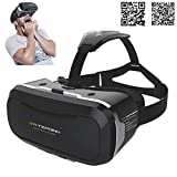 [Zweite Generation] Tepoinn 3D VR Virtual Reality Brille Headset mit verstellbarem...