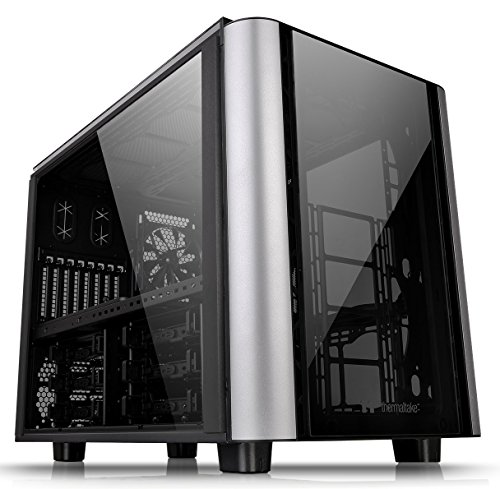 Thermaltake Level 20 XT E-ATX Extreme LCS Capable Split Level Modular Gaming Cube Case CA-1L1-00F1WN-00
