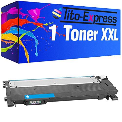 Tito-Express Platinum Serie 1 Toner cartridge XXL Cyan compatibel met Samsung CLT-404S CLT404S Xpress C430 C430W C480 C480W C480FN C480FW C482W SLC430 SLC430W SLC480W SLC480FN