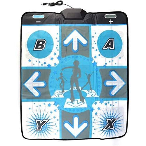 SONGTAO Alfombra De Baile Antideslizante Adecuado para Wii para PC TV Accesorios De Juegos De Baile Utilizados para El Movimiento Familiar Bajar De Peso