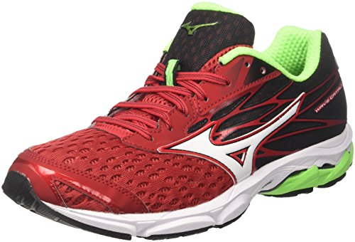 Mizuno Men's Wave Catalyst 2 Running Shoes, Multicolor (Formulaone/White/Black 02), 8 UK