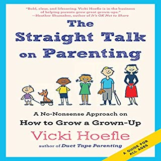 The Straight Talk on Parenting     A No-Nonsense Approach on How to Grow a Grown-Up              Written by:                                                                                                                                 Vicki Hoefle                               Narrated by:                                                                                                                                 Vicki Hoefle                      Length: 7 hrs and 43 mins     Not rated yet     Overall 0.0