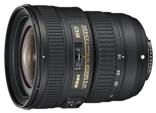 Nikon AF-S 18-35 mm f/3.5-4.5G ED - Objetivo para Nikon (Distancia Focal 18-35mm, Apertura f/3.5-22, diámetro: 77mm) Negro