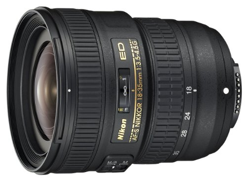 Nikon AF-S FX NIKKOR 18-35mm f/3.5-4.5G ED Zoom Lens with Auto Focus for Nikon DSLR...