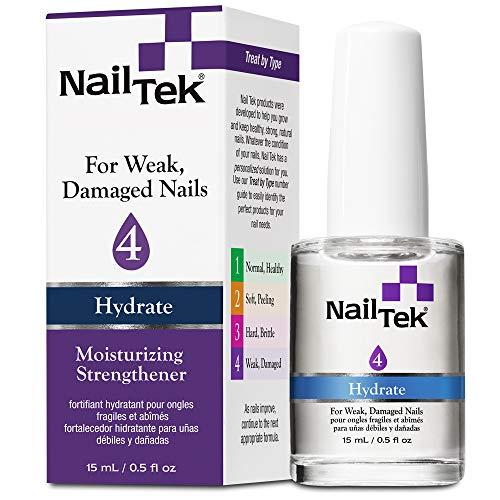 Nail Tek 4 Hydrate Moisturizing Strengthener 0.5oz by Nail Tek