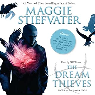 The Dream Thieves     Raven Cycle Series, Book 2              Auteur(s):                                                                                                                                 Maggie Stiefvater                               Narrateur(s):                                                                                                                                 Will Patton                      Durée: 12 h et 45 min     28 évaluations     Au global 4,5