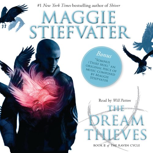 The Dream Thieves audiobook cover art