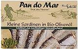 Pan do Mar Kleine Sardinen in Bio Olivenöl