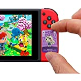 Portable 24pcs NFC Game Cards Tag for ACNH Animal Crossing New Horizons Villager Switch/Switch Lite/Wii U with Crystal Case