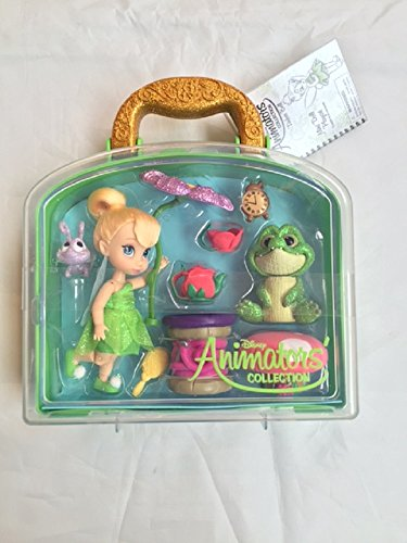 New Disney Store Tinkerbell Mini Animator Doll Playset & Accessories …