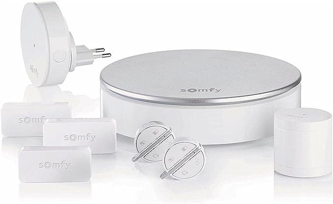 778 opinioni per Somfy 2401497 Kit Antifurto WiFi Completo per la Casa, 220 V, Bianco