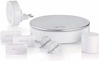 Somfy 2401497 – Home Alarm – Allround alarmsysteem incl. 3 deur- en raamsensoren, 2 Key Fobs, 1 Sirene & 1 bewegingsdetect...