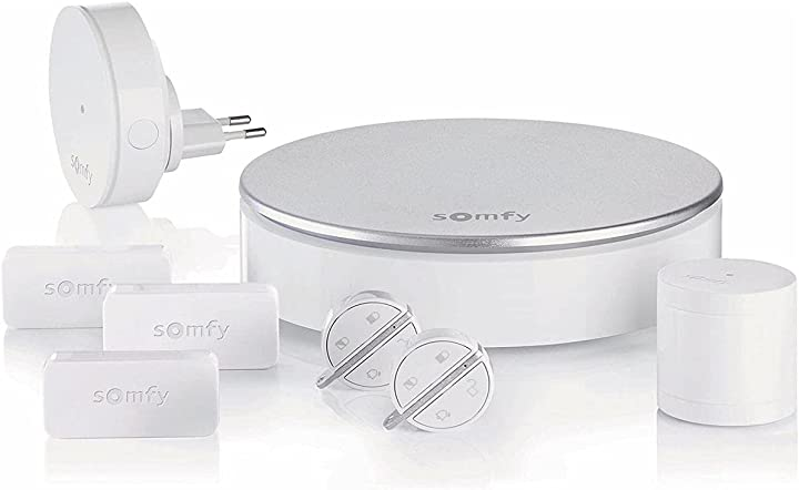 Kit antifurto wifi completo per la casa somfy 2401497 - home alarm 2401497A