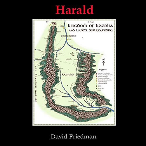 Harald audiobook cover art
