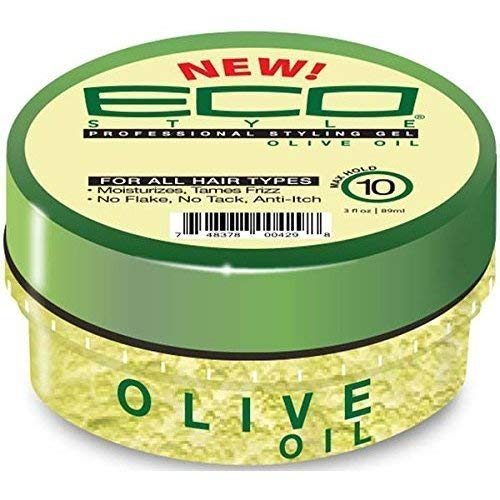Price comparison product image (PACK OF 3) Eco Style Styling Gel Travel Size 3oz (OLIVE)