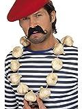 Smiffys Kostüm Zubehör Knoblauch Kette Halskette Karneval Fasching