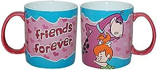 Westland Giftware Stoneware Mug, Friends Forever, 14 oz, Multicolor
