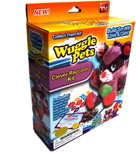 Wuggle Pets Clever Raccoon Refill Kit