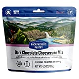 Backpacker's Pantry Dark Chocolate Cheesecake Mix | Freeze Dried Backpacking & Camping Food |...