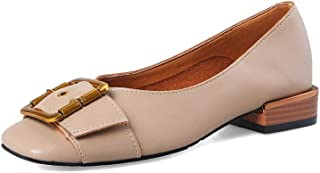 BalaMasa Womens APL12140 Pu Block Heels