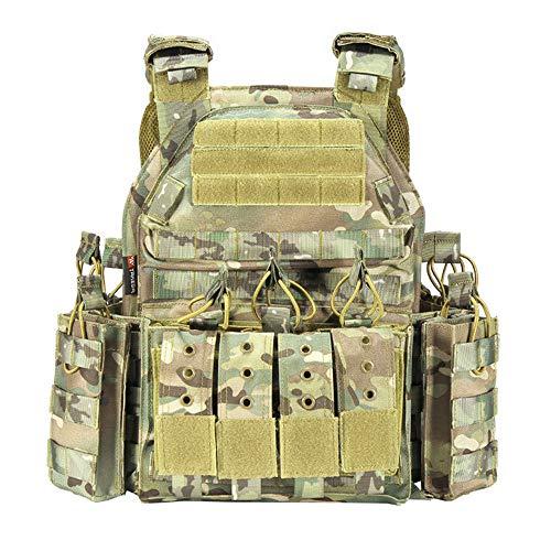 MASII Outdoor Tactical Vest Multi-Purpose Field Tactical Vest Sports Equipment Tactical...