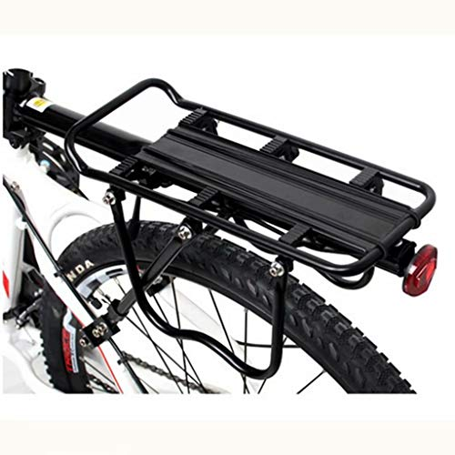 Purchase LXMJ Bike Cargo Racks Bicycle Shelf Universal Quick Release Mountain Single Car Rack Adjustable Rear Shelf Bicycle Rear Seat Manned Riding Accessories