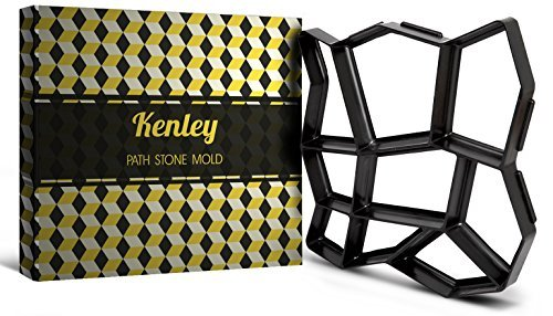 Kenley Stampo Per Vialetto Da Giardino - Forma Per Selciato In Cemento O Pietra Naturale - 43 X 43 Cm