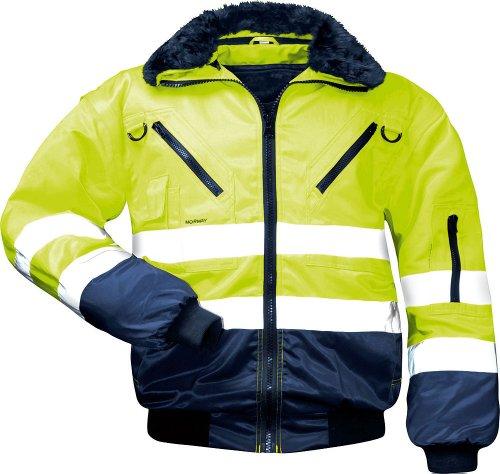 Norway 23648 Sicherheitsausrüstung und -kleidung, Giallo/Marine, XL