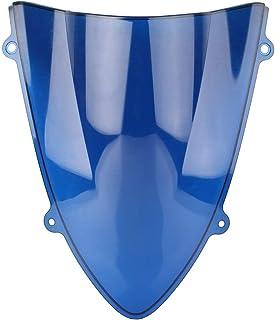 Alina-Shops - EX250 2008 Motorcycle Windshield Windscreen For Kawasaki Ninja 250 250R 2008 2009 2010 2011 2012 Windproof Double Bubble