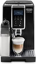 De'Longhi Dinamica Ecam 350.55.B Volautomatische Espressomachine, Met Melksysteem, Digitaal Display Met Duidelijke Tekst, ...