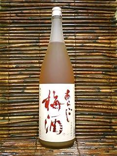 梅乃宿酒造「あらごし梅酒」(奈良)(本格梅酒)1800ml