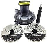 Ninja Chute Feed Lid Slicer Shredder Grater Discs for BL491 BL492 BL493Z BL494 40oz Bowl Compact Blender