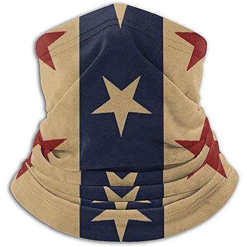 Tonesum Cache-Cou Cache-Cou Chaud Balaclavas Star in Stripes Coupe-Vent Écharpe Chapeaux Bandana Multifonctionnel Écharpe