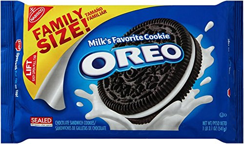 Oreo Chocolate Sandwich Cookies - Family Size - 19.1oz