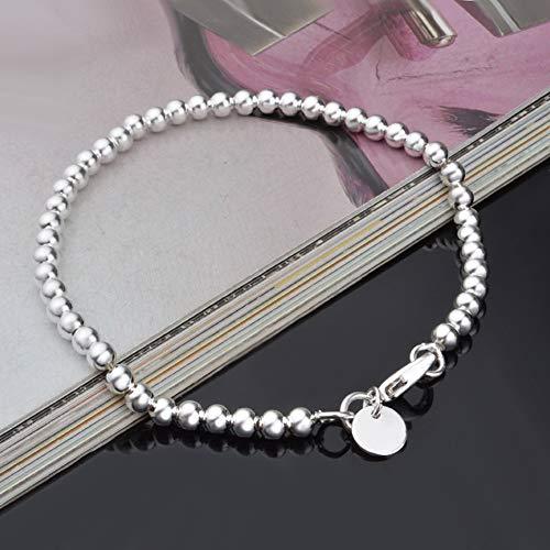 XQxiqi689sy Bracelet Bangle Chic Unisex chapado Hollow Hollow Perlas en la muñeca aro aro accesorio joyería One Color