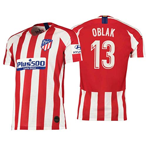 S&K Sports Camiseta Jan Oblak Atletico de Madrid Rojo,Camiseta Jan Oblak 2019/20 para Hombre & Niño