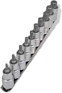 Set de 40 Piezas Ulti-Mate II S50050L Caja grande con tornillos de alto rendimiento para madera acabado BICROMATADO de 5,0 x 50 mm