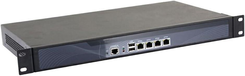1U Rackmount Firewall,Router,Network Security,4 Intel Gigabit LAN Intel Atom D525 R2(4GB Ram 64GB SSD)
