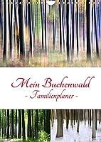 Mein Buchenwald - Familienplaner (Wandkalender 2022 DIN A4 hoch): Ein Buchenwald im Wandel der Jahreszeiten (Familienplaner, 14 Seiten )