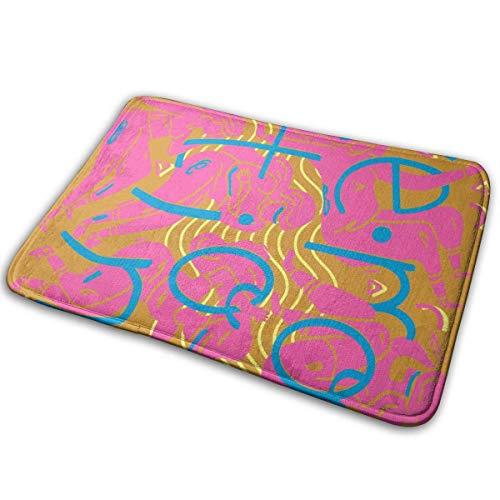 Felsiago Alfombrillas clásicas Alfombrillas para Exteriores Carly RAE Jepsen Music con Felpudo de 15.7 x 23.6 Pulgadas, Multicolor