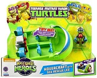 Teenage Mutant Ninja Turtles Half Shell Heroes Hovercraft with Sea Rescue Leo