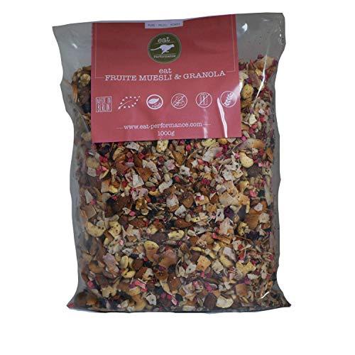 eat Performance® Früchte Müsli (1000g) - Bio, Paleo, Glutenfreies Granola Aus 100{848c73cf61d889c376ae673536b419bc8aae3923e8c553173cd84c5d4a6afe7a} Natürlichen Zutaten