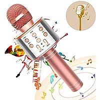 Fukkuda 3-in-1 Wireless Portable Karaoke Microphone