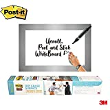 Post-it Dry Erase Whiteboard Film Surface for Walls, Doors, Tables, Chalkboards, Whiteboards, and More,...