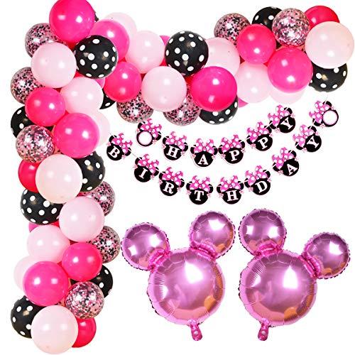 Arco de globos cumpleaños