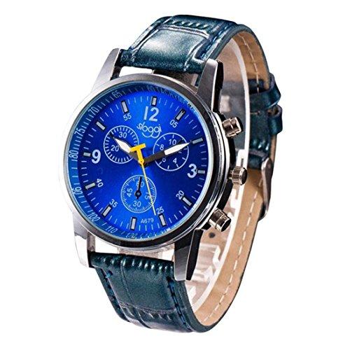Longra herenhorloge, luxe, krokodil-look, kunstleer, voor mannen, analoog, herenarmband, leren armband, metalen armband, digitale horloges, modieus