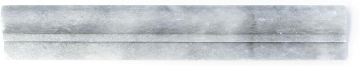 Brand rand marmer natuursteen lichtgrijs profiel bardiglio antiek marmer voor muur badkamer toilet douche keuken mozaïekma...